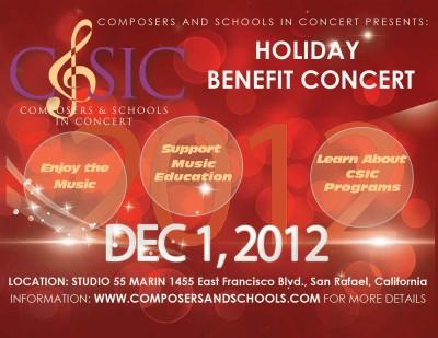 2012 CSIC Holiday Concert